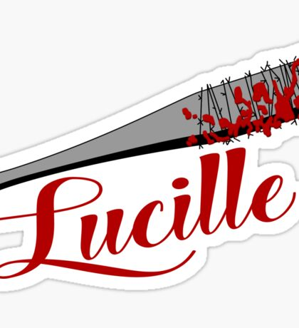 The Walking Dead - Lucille Sticker