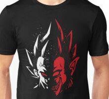 Super Saiyan Vegeta Haft Face Shirt Unisex T-Shirt