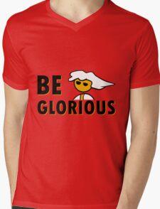 Be Glorious Steam PC Master Race Geek Mens V-Neck T-Shirt