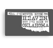 Oklahoma Heaven - dark Canvas Print