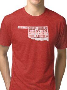 Oklahoma Heaven - dark Tri-blend T-Shirt