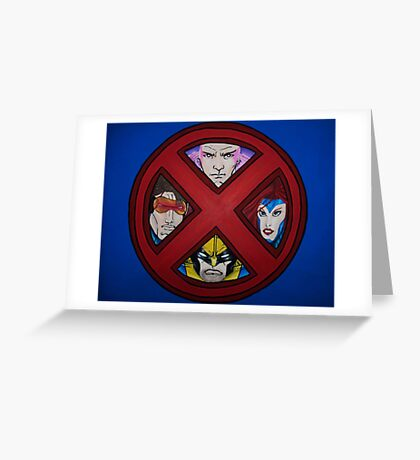 X-Men Greeting Card
