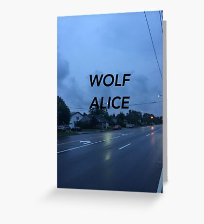 Wolf Alice Greeting Card