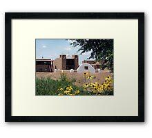 San Geronimo Chapel Framed Print