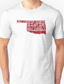 Oklahoma Heaven - Sooner Red Unisex T-Shirt