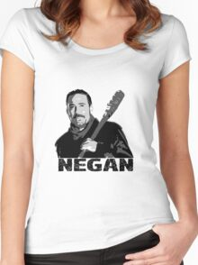 The Walking Dead - Negan Named Women's Fitted Scoop T-Shirt