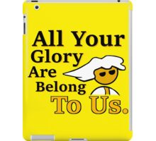 Steam PC Master Race All Your Glory iPad Case/Skin