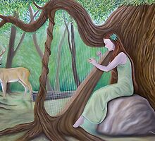 The Harpist and the Tree by Wil Zender