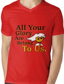 Steam PC Master Race All Your Glory Mens V-Neck T-Shirt