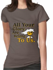 Steam PC Master Race All Your Glory Womens Fitted T-Shirt