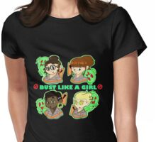 Ghostbusters: Bust Like A Girl Womens Fitted T-Shirt