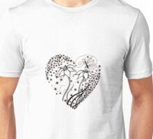 your heart is a garden. Unisex T-Shirt