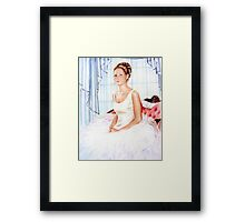 Before the Ball  Graduation Framed Print