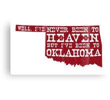 Oklahoma Heaven - Red Canvas Print