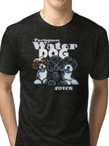 Portuguese Water Dog Lover (Dark) Tri-blend T-Shirt