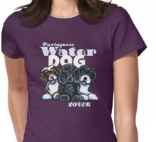Portuguese Water Dog Lover (Dark) Womens Fitted T-Shirt