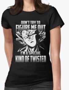 Super Saiyan Vegeta Shirt Womens Fitted T-Shirt