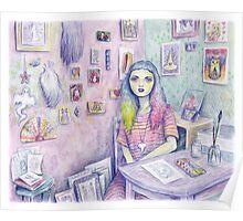 My Studio Poster