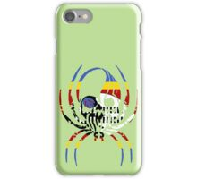 SWAZILAND SPIDER SKULL FLAG iPhone Case/Skin