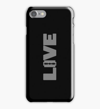 to live dangerously iPhone Case/Skin