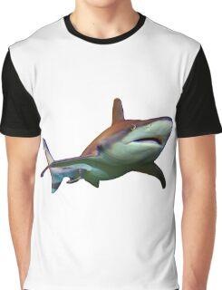 Swimming Shark Graphic T-Shirt