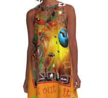 Wilderness Get Out In It* A-Line Dress