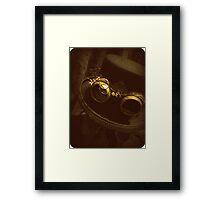 Steampunk Gentlemen's Hat 1.0 Framed Print