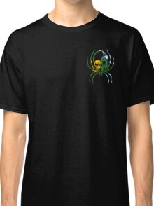 VANCOUVER SPIDER SKULL FLAG BC  Classic T-Shirt