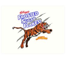 Frosted Sugar Flakes Art Print