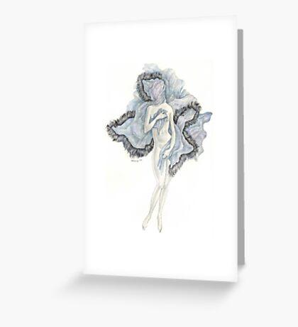 Blanketed Venus Greeting Card
