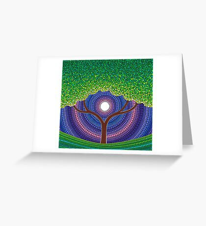 Happy Tree of Life Greeting Card