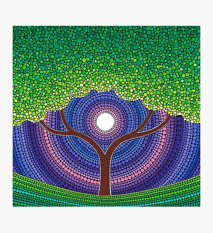 Happy Tree of Life Photographic Print