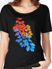 Summer Leaves Women's Relaxed Fit T-Shirt