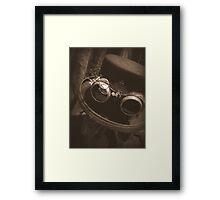 Steampunk Gentlemen's Hat 1.1 Framed Print