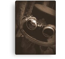 Steampunk Gentlemen's Hat 1.1 Canvas Print