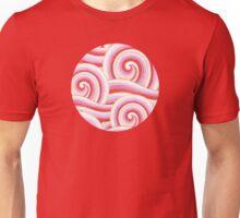 Red Auspicious Waves Unisex T-Shirt