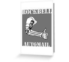 Fullmetal Alchemist - Rockbell Automail Mechanic Greeting Card