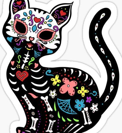 Dia de los Gatos Sticker