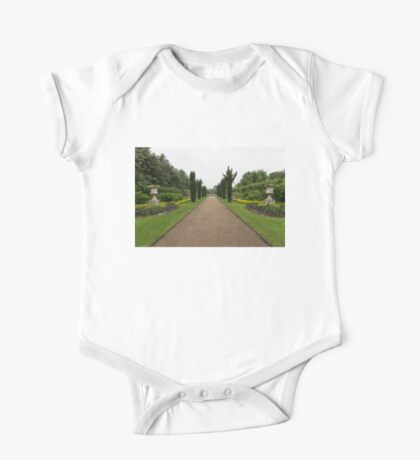 A Peaceful Walk in the Avenue Gardens - the Allee is All Yours One Piece - Short Sleeve