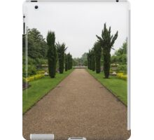 A Peaceful Walk in the Avenue Gardens - the Allee is All Yours iPad Case/Skin