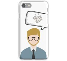 The Real Bussinesman iPhone Case/Skin