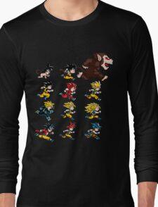 Super Saiyan Goku shirt Long Sleeve T-Shirt