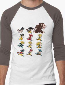 Super Saiyan Goku shirt Men's Baseball ¾ T-Shirt