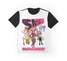 Smash the Pokéarchy Graphic T-Shirt