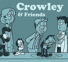 Crowley & Friends - Supernatural by Justyna Rerak