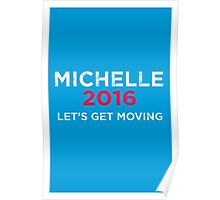 Distressed Michelle 2016 Poster