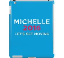 Distressed Michelle 2016 iPad Case/Skin
