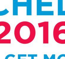 Michelle 2016 Blue Sticker