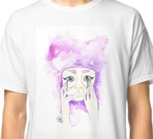"""crying glitter hurts"" Classic T-Shirt"