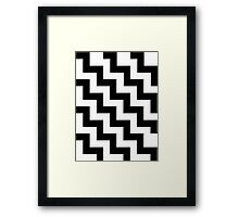 Stairs Pattern Framed Print